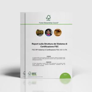 Report struttura e sistema di certificazione FSC