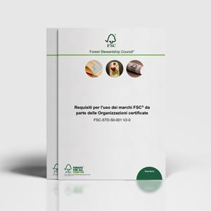 Uso dei marchi FSC da parte di organizzazioni certificate