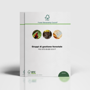 Entità Coordinatrici di Gruppo nei gruppi di Gestione Forestale